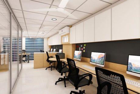 interior designer office plan