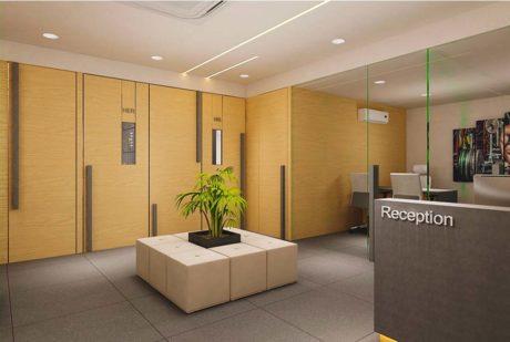 GYM Reception interior