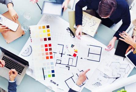 architect office plan layout