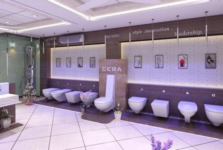Show room Display design