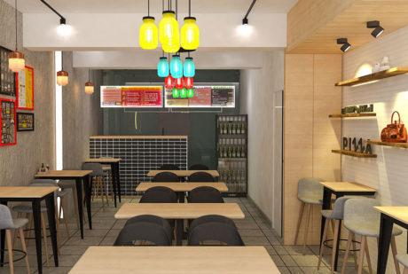 La Pinoz Pizza interior Design 9