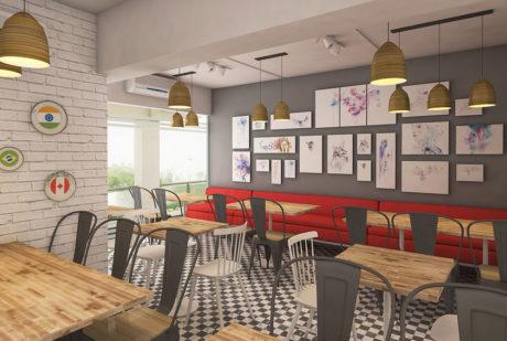 La Pinoz Pizza interior Design 7
