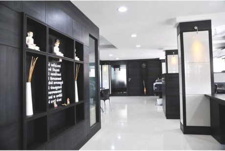 decorated office spaces