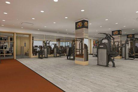 Gym Interior design ideas