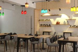La Pinoz Pizza interior Design 8