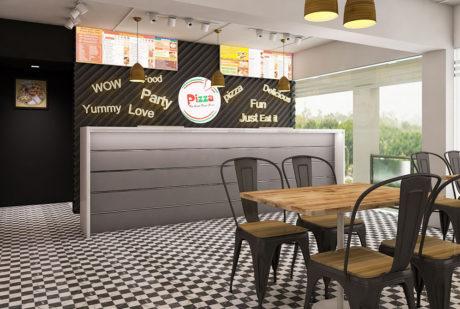 La Pinoz Pizza interior Design 6