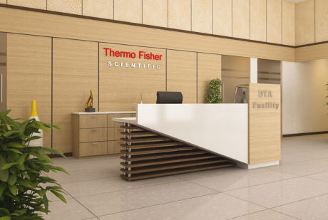 Themo Fisher office design 1