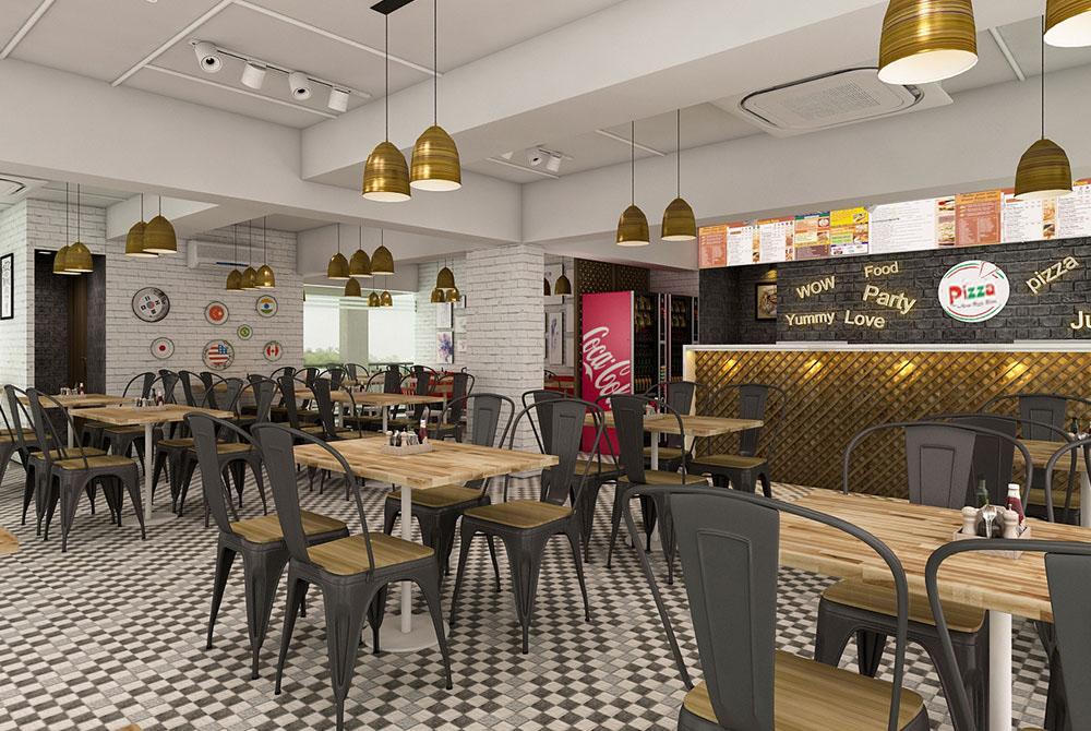 La Pinoz Pizza interior Design 5