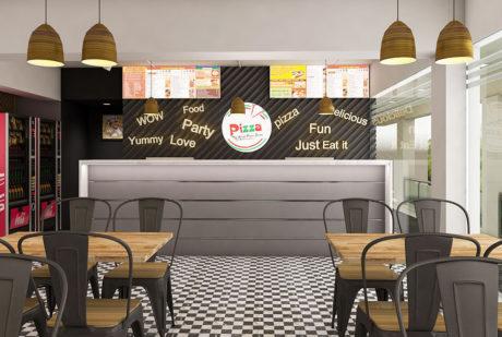 La Pinoz Pizza interior Design 4