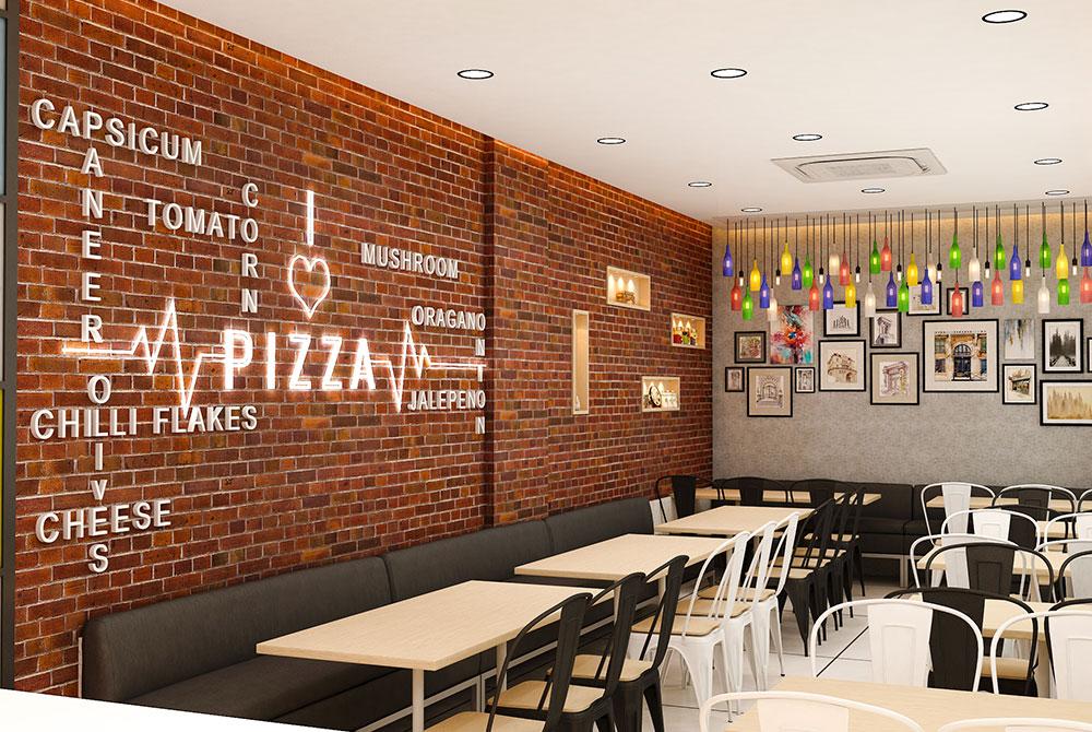 La Pinoz Pizza interior Design 2
