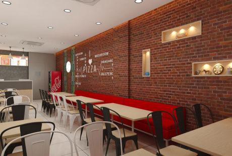 La Pinoz Pizza interior Design 3